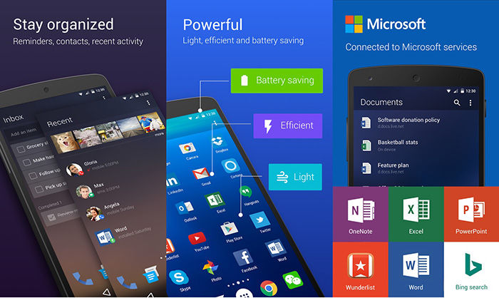 Microsoft Arrow Launcher Android 2