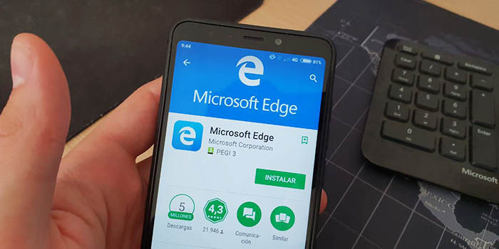 Microsoft Edge Google Play