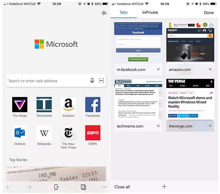 Descargar Microsoft Edge Mobile para Android (APK)