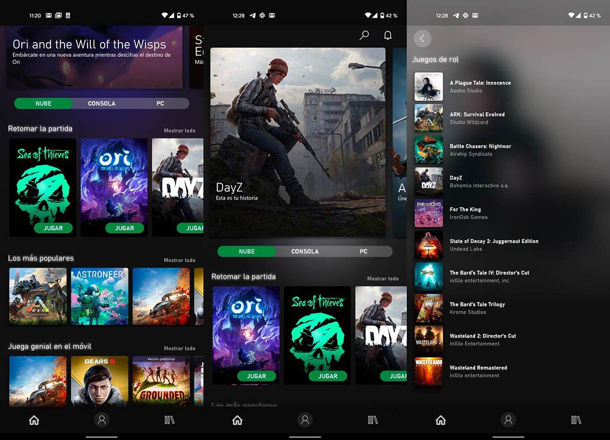 Microsoft Game Pass para Android