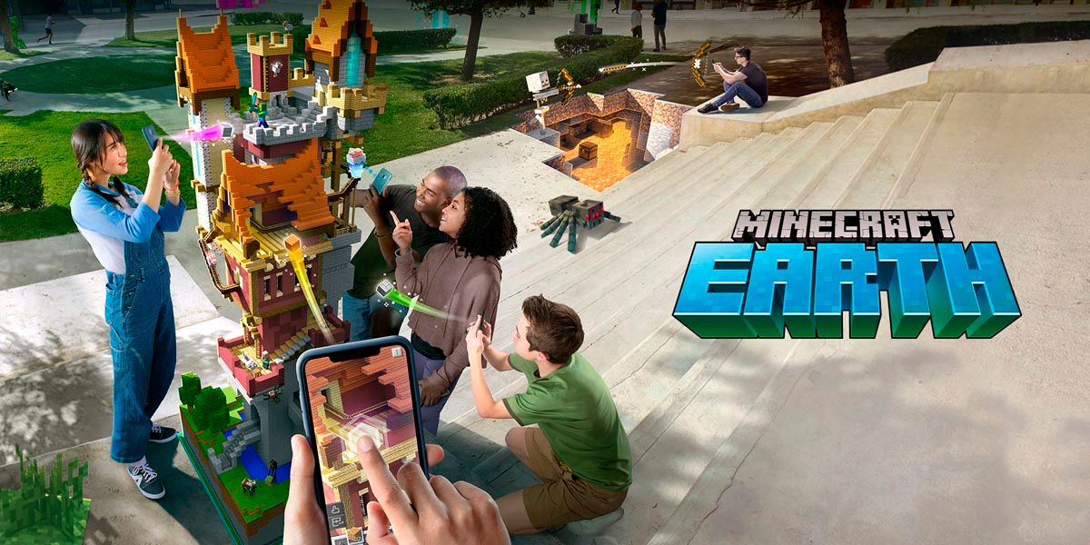 Minecraft Earth realidad aumentada android