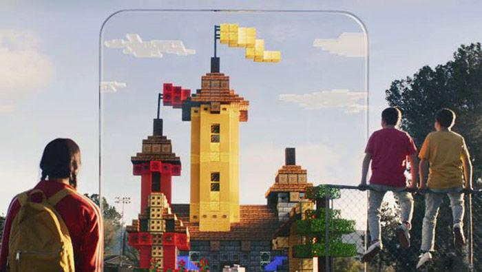 Minecraft Earth realidad virtual