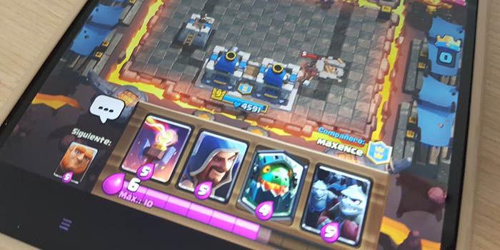Mirar cartas companero Clash Royale