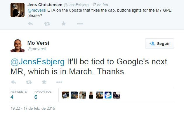 Mo Versi confirma llegada de Android 5.1 en Marzo