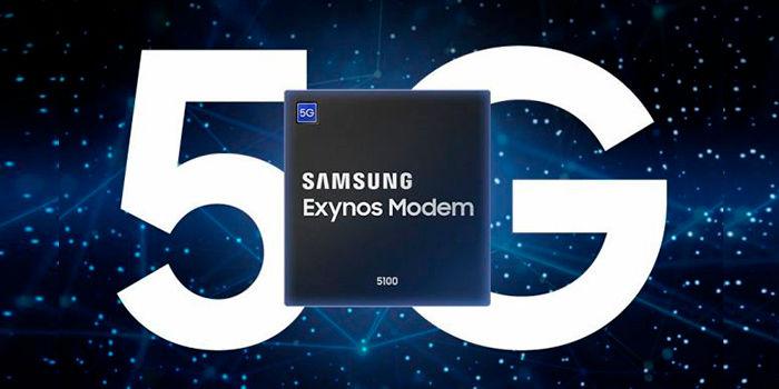 Modem 5G de Samsung Exynos 5100
