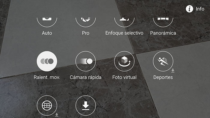 Modo cámara lenta en Galaxy S6