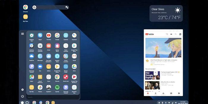 Modo de escritorio Android Q