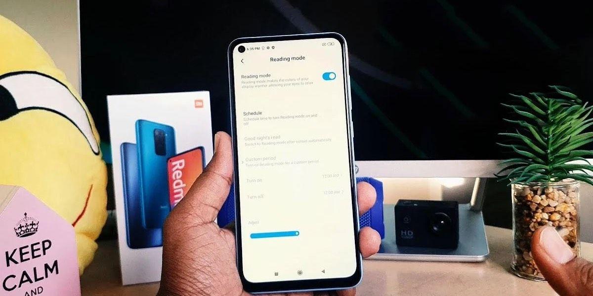 Modo lectura Xiaomi