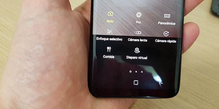 Modos camara Galaxy S8