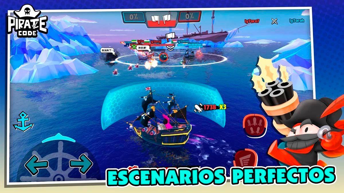 Modos de juego Pirate Code