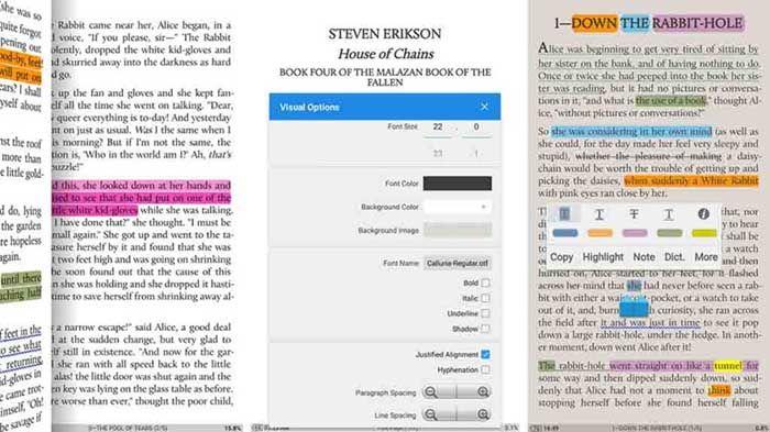 Moon+ Reader para Android