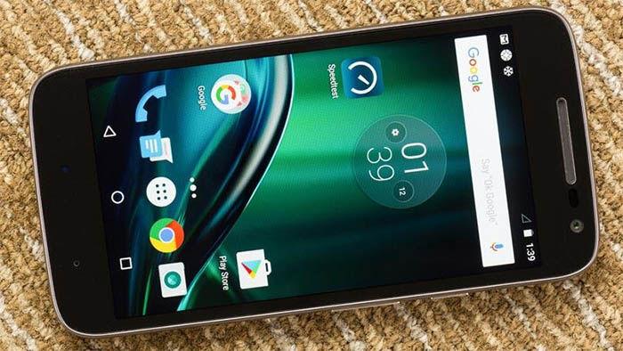 Moto G4 Play sosftware