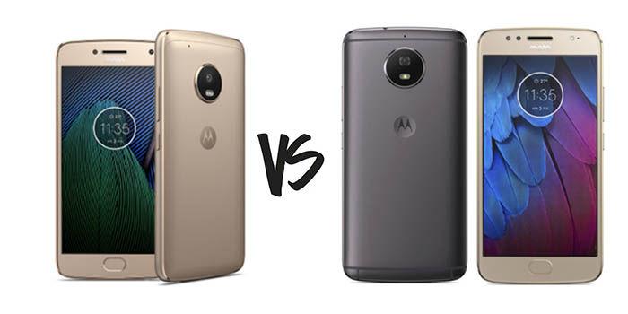 Moto G5 Plus vs Moto G5S
