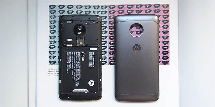 Moto G5 bateria extraible
