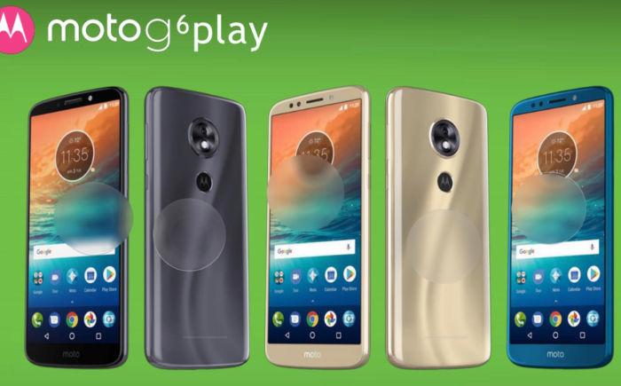 Moto G6 G6 Play y G6 Plus