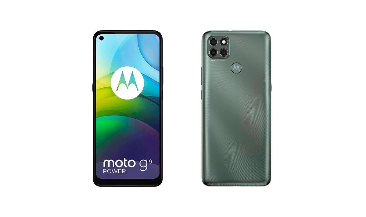 Moto G9 Power diseño