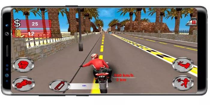Moto Rider Death Racer