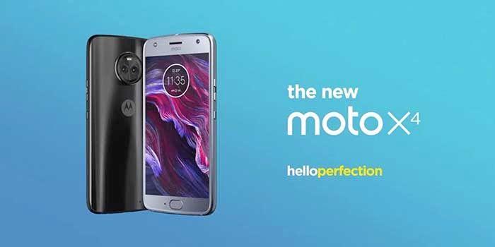 Moto X4 lanzamiento EE UU