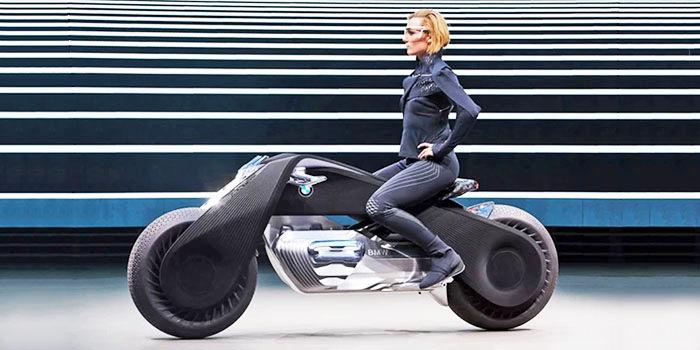 Moto futurista BMW