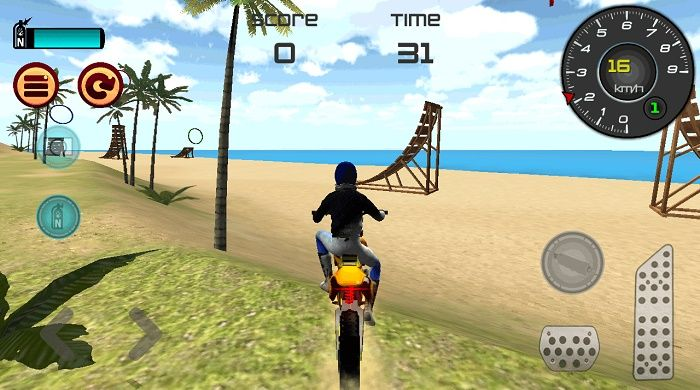 Motocross Playa 3D