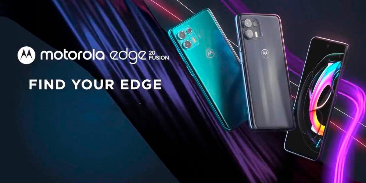Motorola Edge 20 Fusion características precio