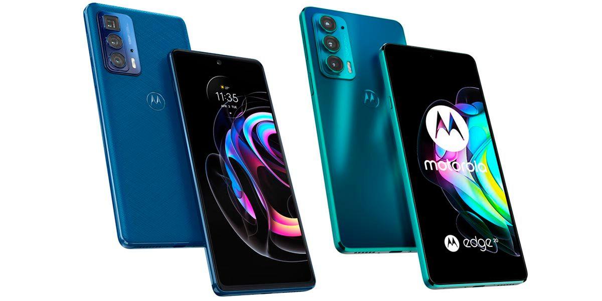 Motorola Edge 20 y Edge 20 Pro especificaciones y precios