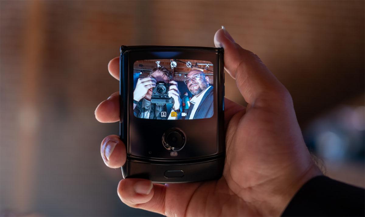 Motorola Razr pantalla