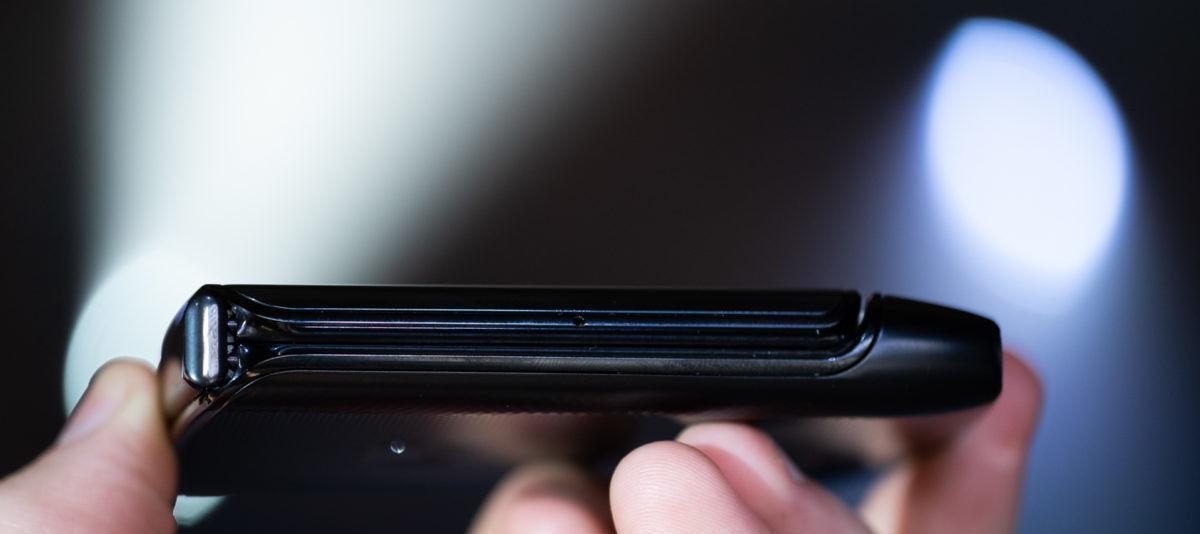 Motorola Razr sistema plegable
