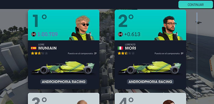 Motorsport Manager 3 Android prueba