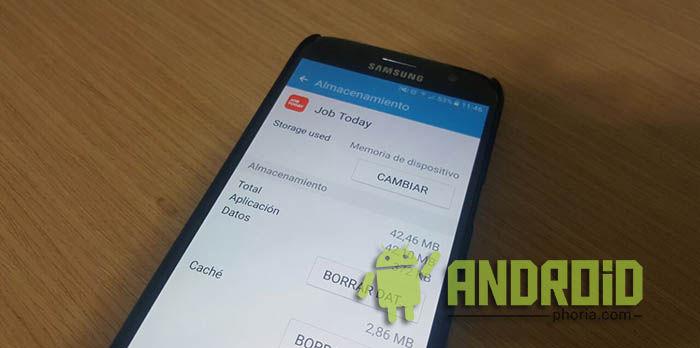 Mover app a SD en S7