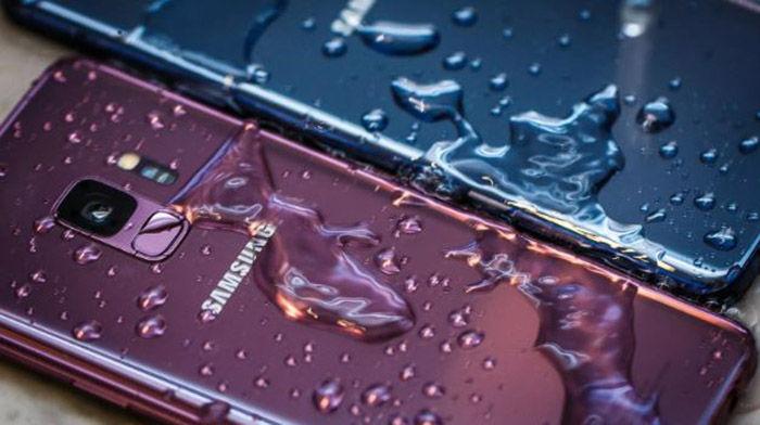 Movil Samsung resistente al agua