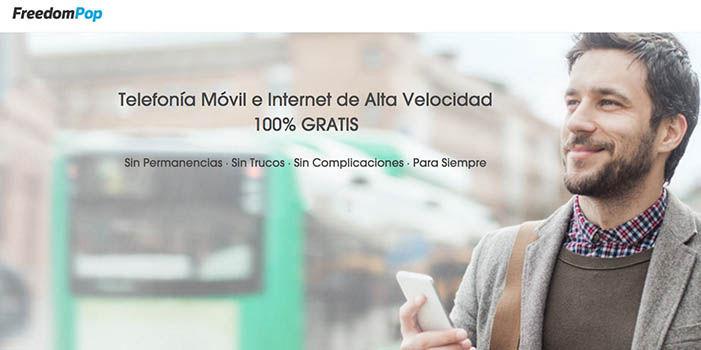 Movil e Internet gratis con FreedomPop