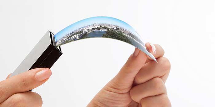 Movil flexible Samsung