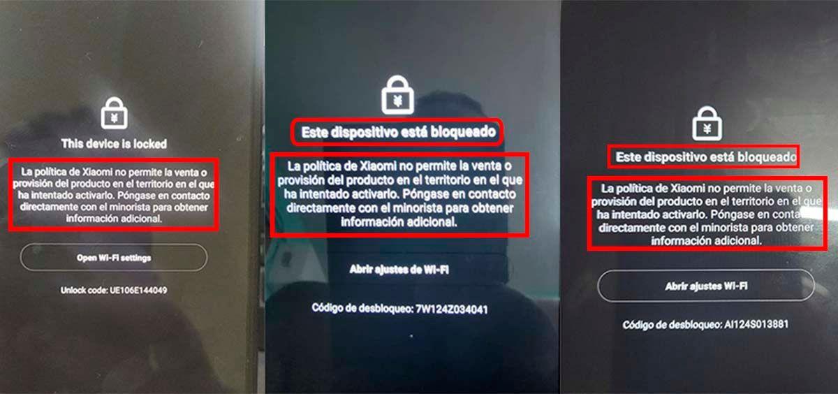 Móviles Xiaomi bloquean vía software en estos países