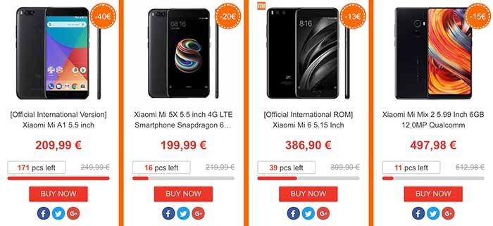 Moviles Xiaomi oferta Geekmaxi
