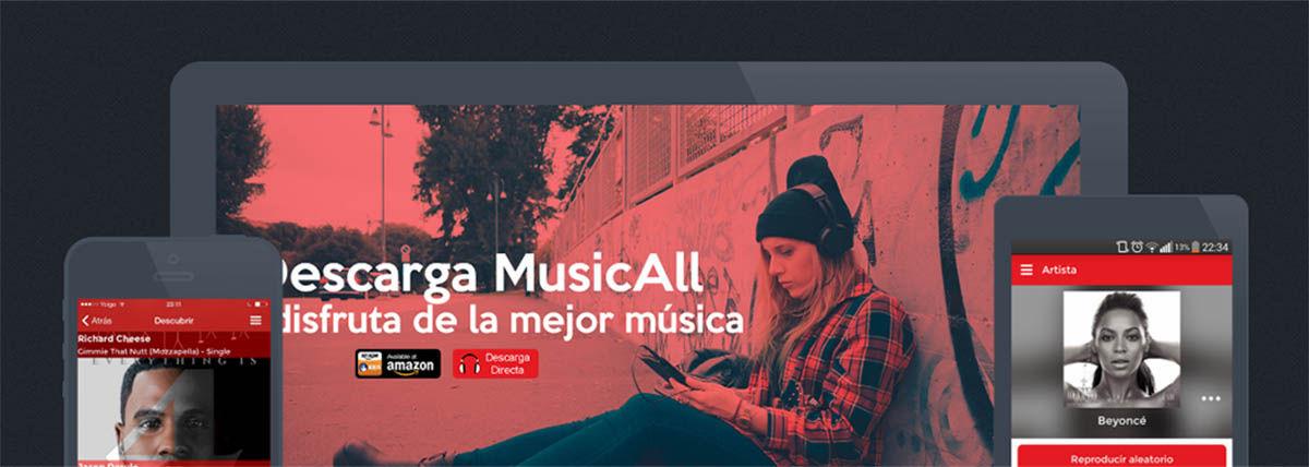 MusicAll para android