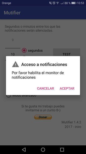 Mutifier app