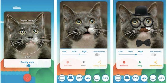 My Talking Pet aplicacion animaciones mascotas android
