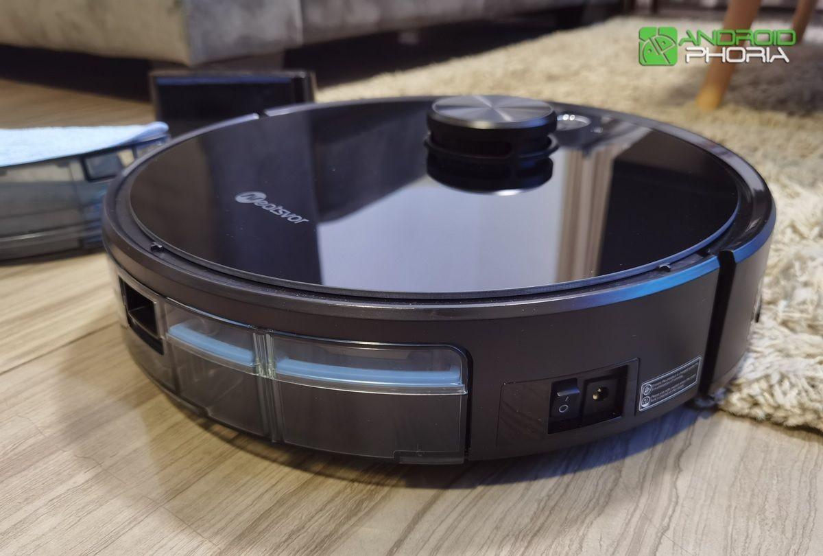 NEATSVOR X600 boton de encendido