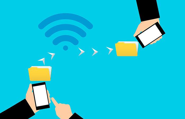 NFC transferencia de datos