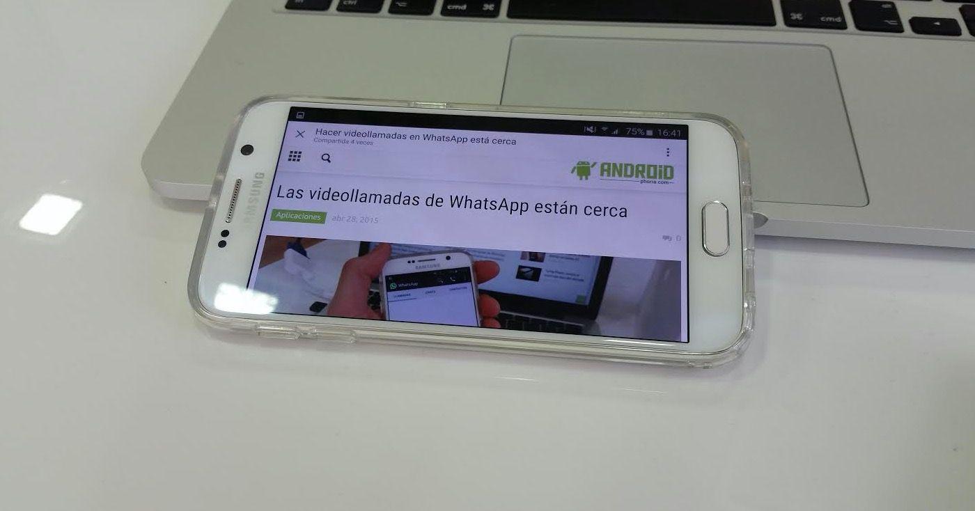 Navegador Facebook Android