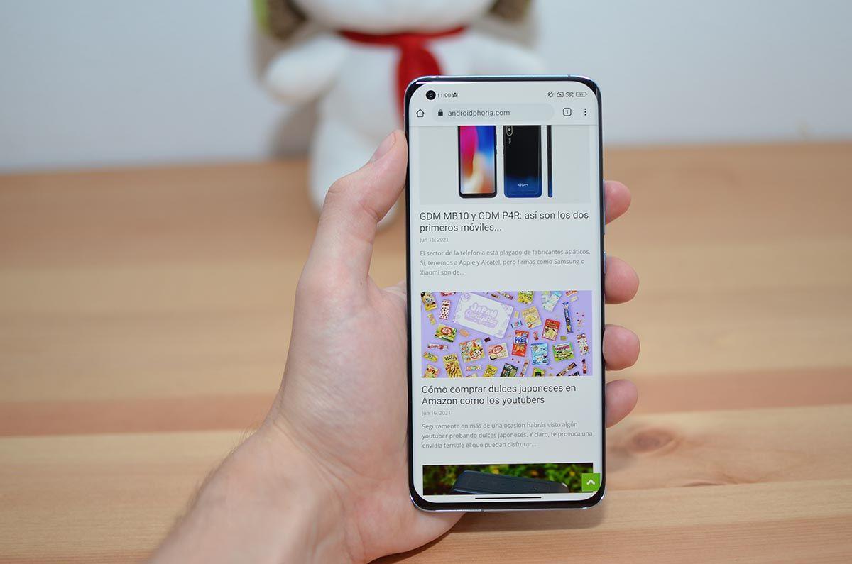 Navegando Xiaomi Mi 11