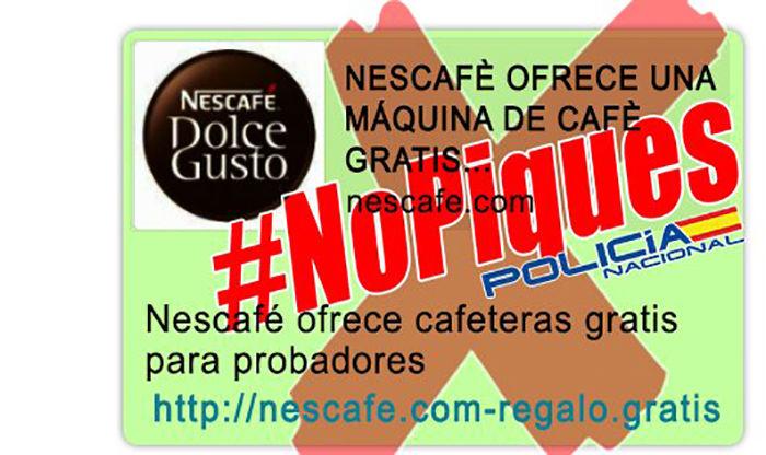 Nescafe regala cafeteras WhatsApp