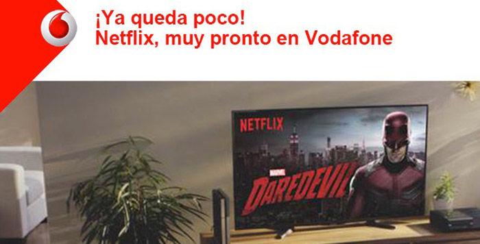 Netflix 6 meses gratis Vodafone