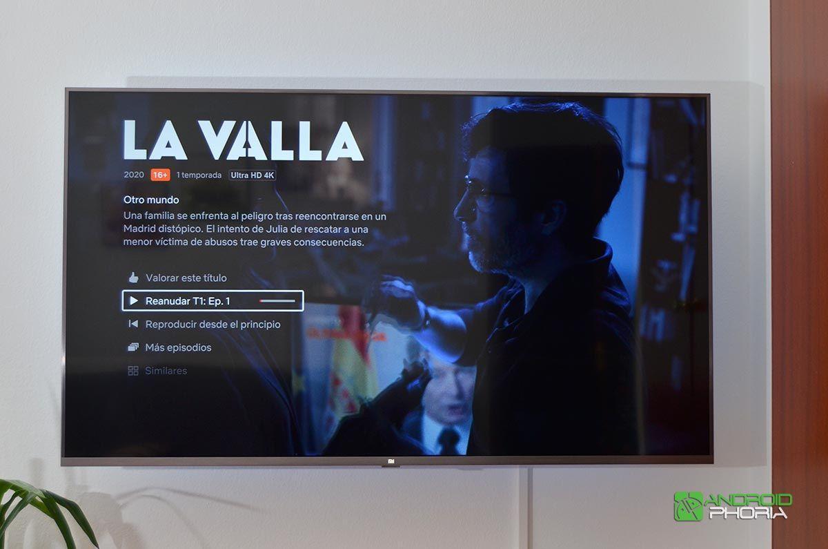 Netflix Xiaomi Mi TV 4S 55