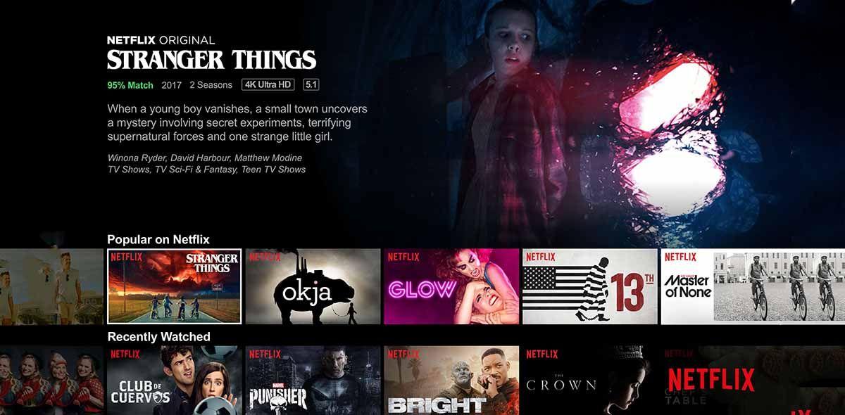 Netflix el servicio numero uno de series y películas