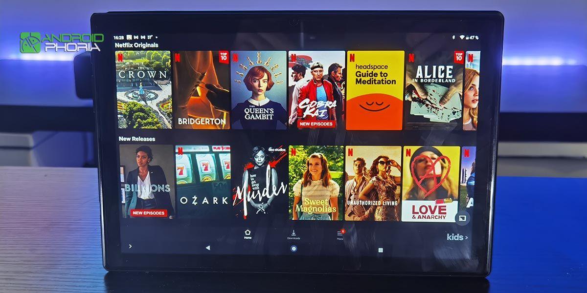 Netflix en Teclast M40