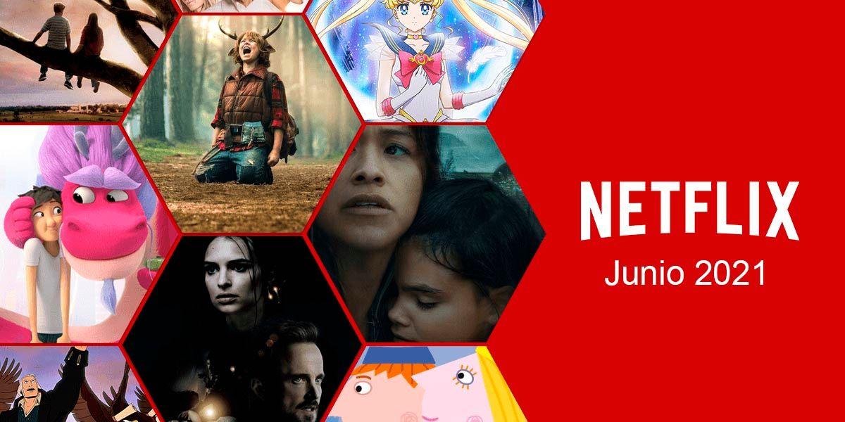 Netflix estrenos junio de 2021