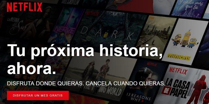 Netflix gratis por un mes