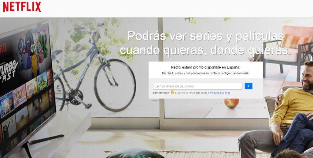 Netflix pronto en España